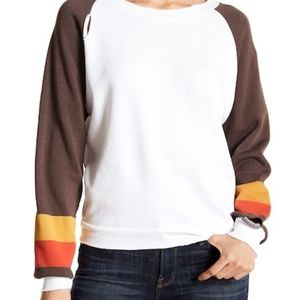 Wildfox Couture Women's Baby Stripe Pullover